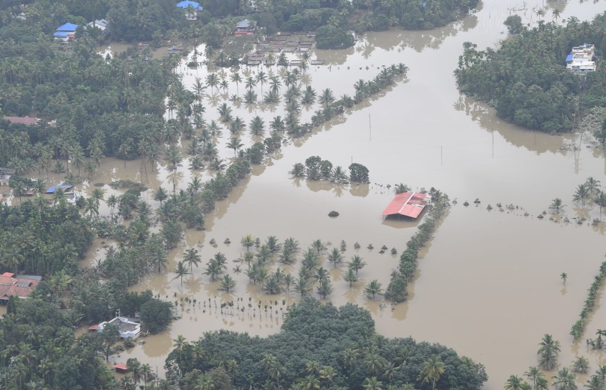 केरल में राहत और बचाव कार्य जारी ओसीएस न्यूज़ बासौदा